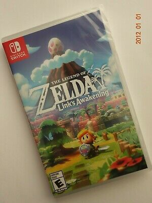 The Legend of Zelda Link's Awakening -Nintendo Switch- Brand New Free Shipping!!