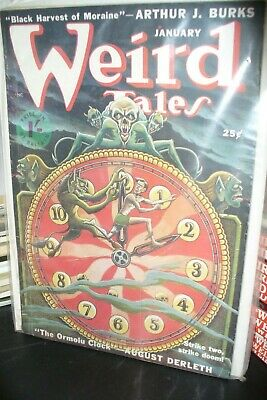Weird Tales Uk Edition Jan + March 1950 [2 Issues]