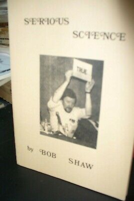 Three Bob Shaw Science Fiction Booklets [3 Issues] All Signed
