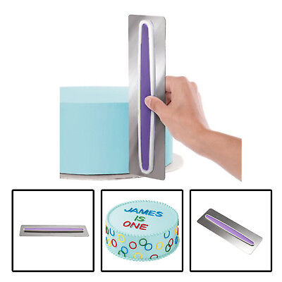 Stainless Steel Buttercream/Icing Smoother Cake Decorating Tool Sugar craft