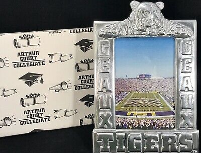 BRAND NEW ARTHUR COURT LSU GEAUX TIGERS 4x6 PICTURE FRAME AUTHORIZED RETAILER