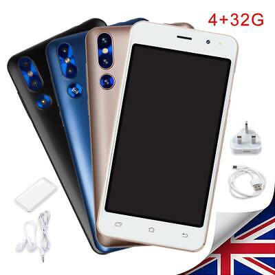 "5"" Android 6.0 Unlocked Cheap Mobile Smart Phone Quad Core Dual SIM WiFi 3G GPS."