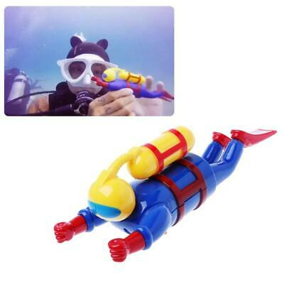 New Swimmers Scuba Diver Toys Wind Up Clockwork Sea Baby Bath Toys Kids Gifts