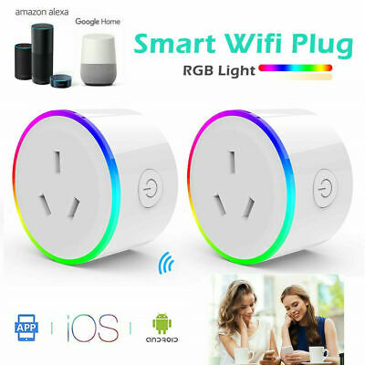 WiFi Smart Plug Power Switch Outlet Smart Home Wireless Socket for Phone App AU