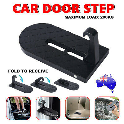 Vehicle Access Roof Of Car Door Step Rooftop Doorstep Latch Hook SUV Jeep Truck