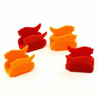 More plate room less spillage! New Set of 4 Taco Shell Holders Props by Norpro