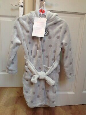 Girls Dressing Gown With Hood Age 6-7 years