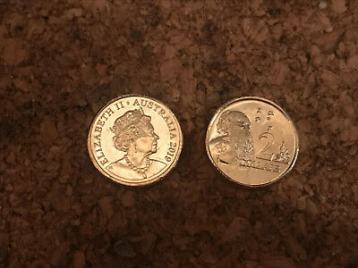 Brand New 2019 Effigies Over Time Coin $2 Dollar Coin UNC 2019