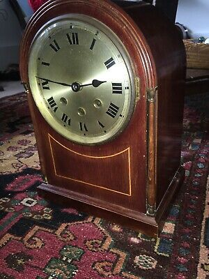 Old c1920s  Arch Top Westminster Chime Bracket Clock