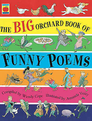 The Big Orchard Book of Funny Poems by Cope, Wendy