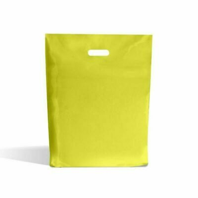 Strong Biodegradable Orange Plastic Carrier Bags Coloured Plastic Shopping Bags