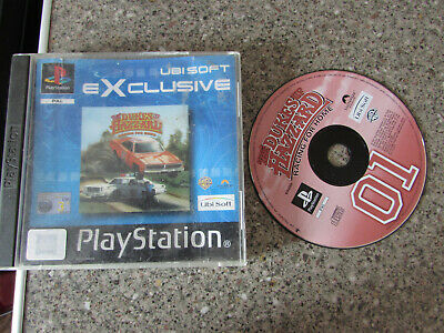 Sony Playstation 1 Ps1 Game Dukes Of Hazard Racing For Home Lot 2