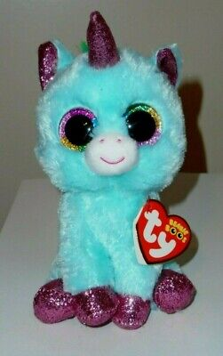 "Ty Beanie Boos - ARIELLE / ARIELLA the Unicorn 6"" (Claire's Exclusive) NEW"