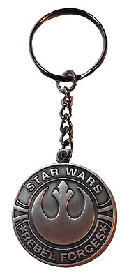 Star Wars Classic REBEL FORCES Metal KEYCHAIN