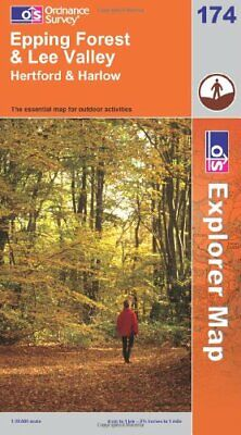 Epping Forest and Lee Valley (OS Explore... by Ordnance Survey Sheet map, folded