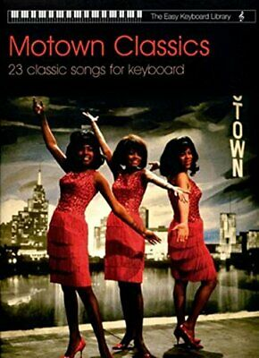 Motown Classics Easy Keyboard Library by Various Paperback Book The Cheap Fast
