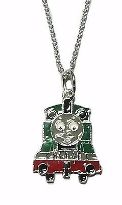Thomas The Tank Engine Percy Pendant Chain Necklace
