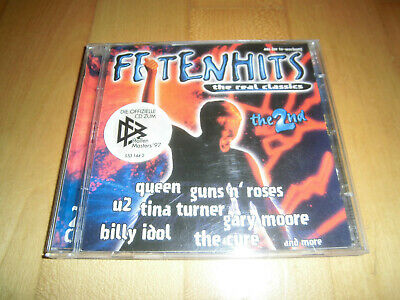 Fetenhits - The Real Classics - The 2nd - 2 CDs Guns N' Roses Queen U2 The Cure
