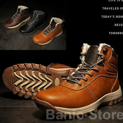 Men's Outdoor Shoes Winter High Cotton Shoes Warm Boots Snow Boots Size 39-48