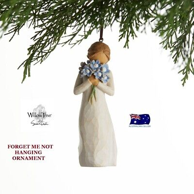 FORGET ME NOT ORNAMENT Willow Tree Figurine By Susan Demdaco Lordi NEW