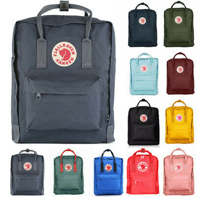 Sport Backpack Fjallraven Kanken Handbag School Waterproof Travel Bag 7L/16L/20L
