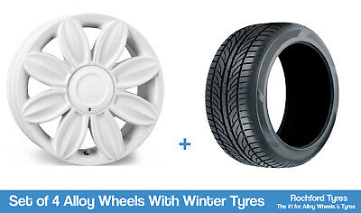 """Tansy Winter Alloy Wheels & Snow Tyres 16"""" For Peugeot 408 10-19"""
