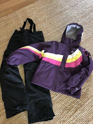 Girls Trespass Snow Ski Suit, Ski Jacket & Ski Trousers, Age 11-12, Fab Conditio