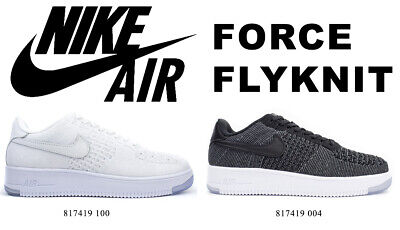 NIKE AIR FORCE 1 Flyknit Low 817419 004817419 100 Gr. US 8