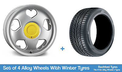 """Tansy Winter Alloy Wheels & Snow Tyres 16"""" For Dodge Verna 11-17"""