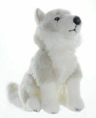 """New Official David Attenborough Bbc Planet Earth Arctic Wolf 12"""" Plush Soft Toy"""