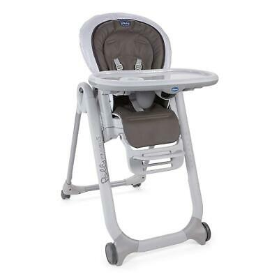 Chicco Polly Progress 5-in-1 Baby Highchair (Pois) - Suitable From Birth
