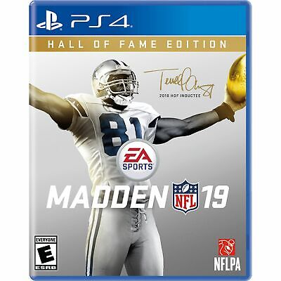 Madden NFL 19 Hall of Fame Edition [PS4] Brand New Sealed