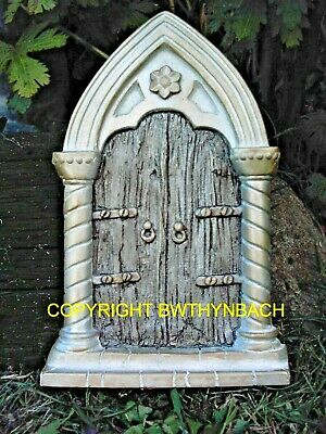New Rubber Latex Mould Moulds Mold Large Gothic Faerie Fairy Fairies Door #3
