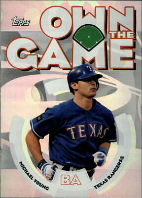 2006 Topps Own the Game #OG2 Michael Young - NM-MT