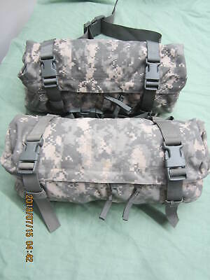 Two MOLLE II Waist Pack Butt/Fanny Hip Bag ACU US Military Functional