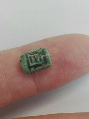 ANCIENT EGYPT NEW KINGDOM SCARAB 1400-1200 B.C Beautiful Very Old Rare Green