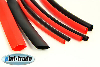 Heat Shrink Tube Sold by the Meter 3 4 6 10mm Shrink Tubes Shrinking Rate 2:1