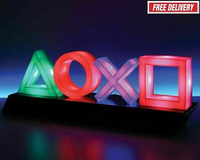 PLAYSTATION Lamp Icons Light 30 cm Neon Sign Shield
