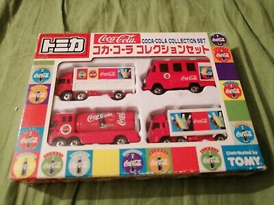 TOMY Tomica Coca Cola Collection Set Original Toy Cars Japanese Original
