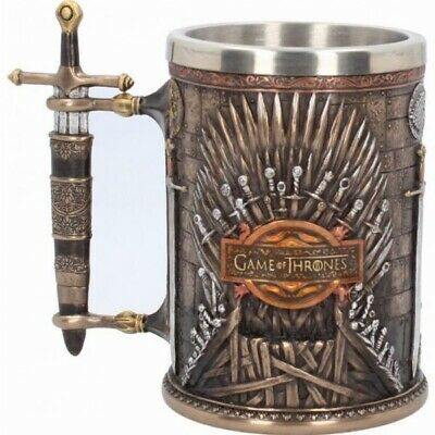 Game of Thrones Mug Coffee Water Beer Tankard Iron Throne Goblet Resin Stainless