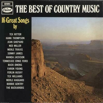 The Best Of Country Music Various-Country UK vinyl LP album record ST21157