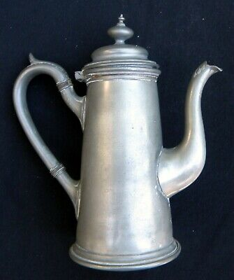 Pewter Coffee Pot-James Deakin & Sons. Sheffield c.1890