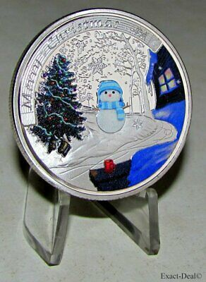 The Queen Elizabeth II - Merry Christmas Santa Claus Collectible Challenge Coin