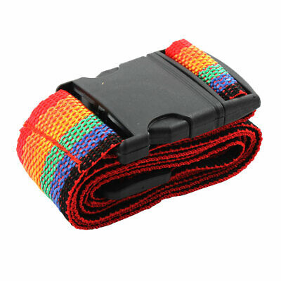 Luggage Suitcase Belt Nylon Travel Accessories Adjustable Release Buckle Strap