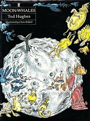 Moon Whales by Hughes, Ted Hardback Book The Fast Free Shipping