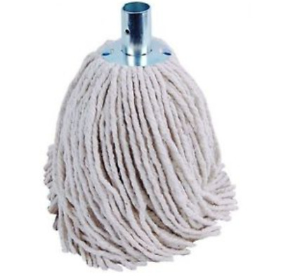 Heavy Duty Industrial Cotton Mop Head Refill PY12 Metal Socket Wet Floor