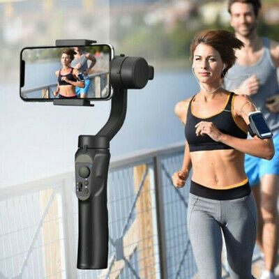 Universal Cell Phone Handheld Stabilizer Gimbal For iPhone Android Phone Black