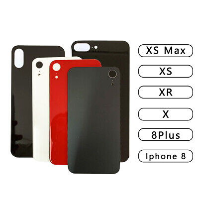 OEM Back Glass Housing Battery Cover Replacement For iPhone XR XS MAX 8 Plus X