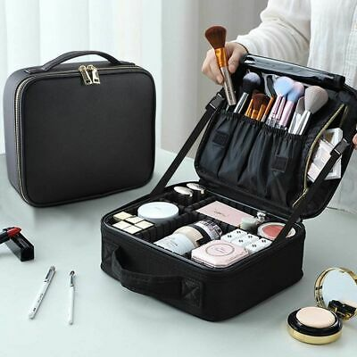 Professional Makeup Bag Cosmetic Organize Case Portable Storage Box Travel Carry