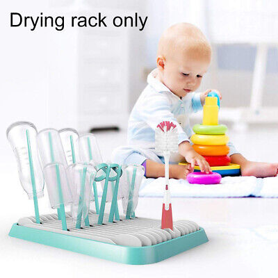 Milk Bottle Drying Rack Portable Multifunctional Dual Layer Baby Infant Foldable